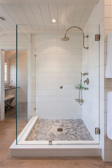 shower tile    shiplap farmhouse shower