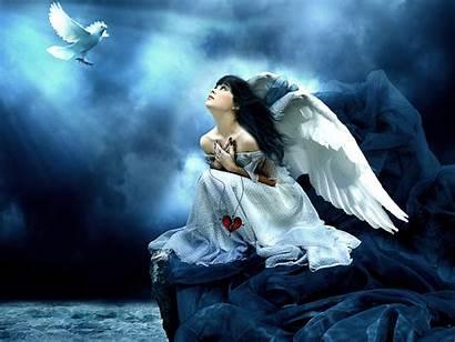 Wallpapers Angel Desktop Angels Background Backgrounds Angelic