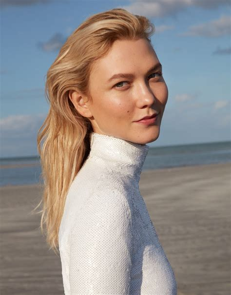 Karlie Kloss Porter Magazine Cover Beach