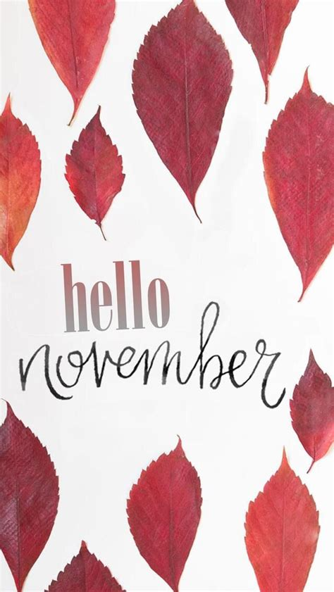 Trendy Phone Backgrounds Fall by Wallpaper Iphone Hello November Wallpapers November