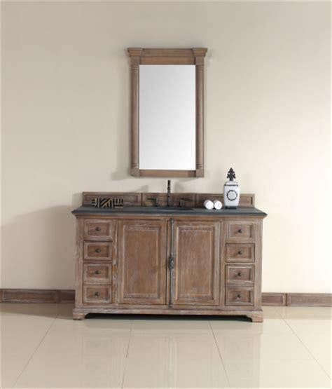 60 Inch Vanity Cabinet Single Sink by 60 Inch Single Sink Bathroom Vanity In Driftwood Finish