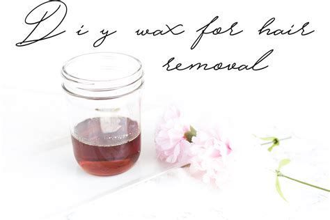 at home wax diy wax for hair removal at home caked to the nines