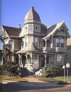 American victorian house architecture painting design ...
