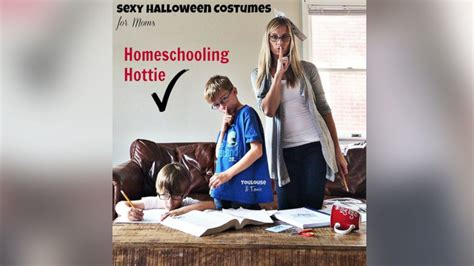 Hilarious Sexy Mom Costume Photo Series Pokes Fun At
