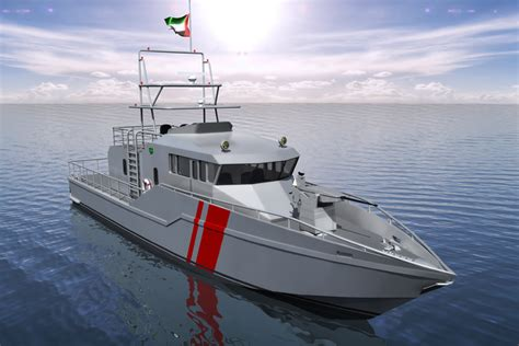 Monohull Boat by Ic1077 25m Monohull Patrol Boat