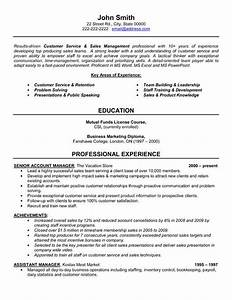 click here to download this senior account manager resume With executive resume service
