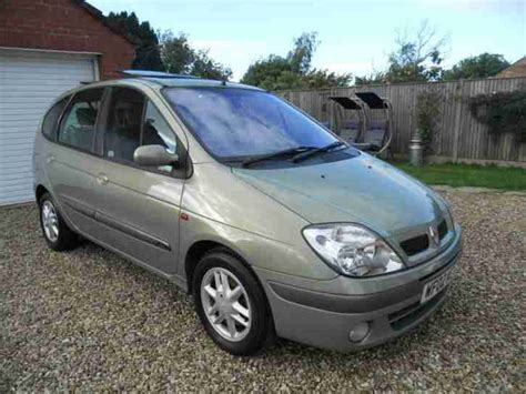 renault scenic 2002 specifications renault 2002 megane scenic dynamique 1 9 dci mpv car for