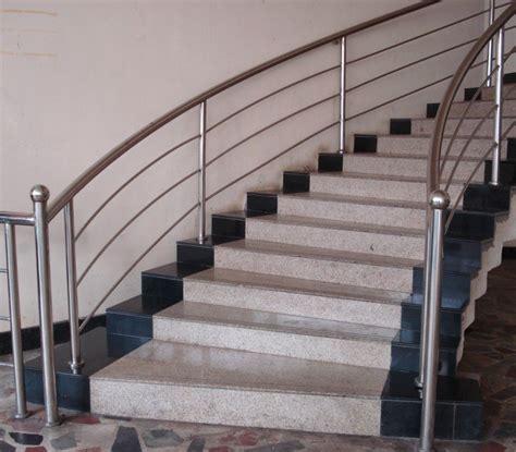 steel staircase design indoor stainless steel stair railing founder stair 2506