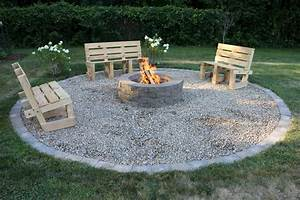 12, Easy, And, Cheap, Fire, Pit, And, Backyard, Landscaping, Ideas