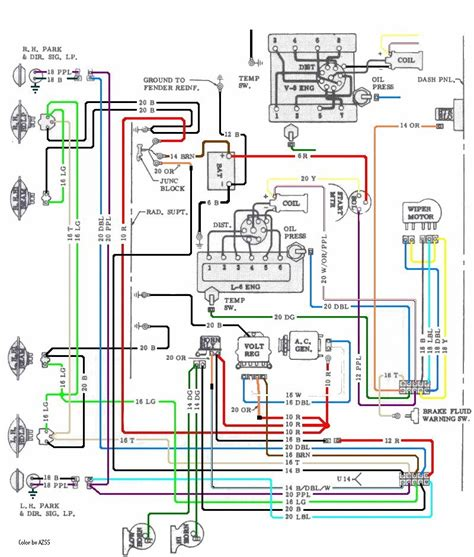 Engine Wiring Chevelle Reference