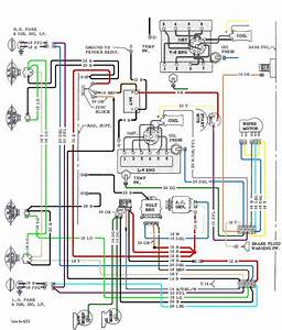 V8 Engine Wiring Diagram 1967 Chevelle
