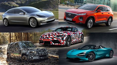 4 Luxury Cars To Look Forward To In 2019