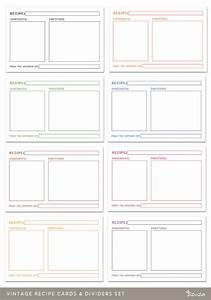 index divider templates - 8 best images of index cards printable editable template