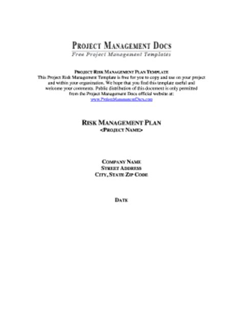 church risk management plan template template for project plan forms fillable printable sles for pdf word pdffiller