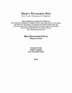 template for project plan forms fillable printable With church risk management plan template