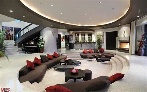 mansion living room with tv wonderful modern mansion living room on home design with Modern