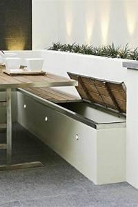 Balkonbank Mit Stauraum : die besten 25 sitzbank mit stauraum ideen auf pinterest storage bench seating fensterplatz ~ Watch28wear.com Haus und Dekorationen