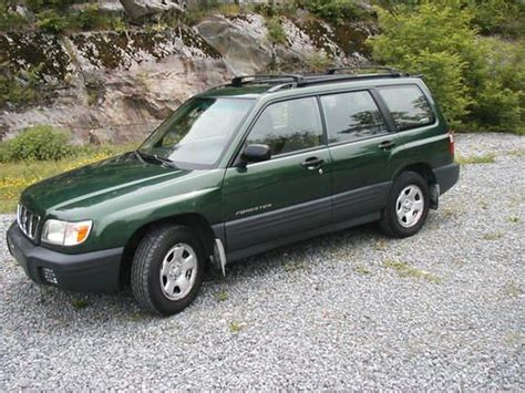 2002 green subaru forester sell used 2002 subaru forester l wagon 4 door 2 5l awd in