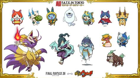 final fantasy yo kai  crossover