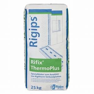 Rigips Schneiden Messer : rigips rifix thermoplus 25 kg ~ Michelbontemps.com Haus und Dekorationen