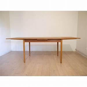 Table à Manger Scandinave Extensible : table repas scandinave vintage la maison retro ~ Teatrodelosmanantiales.com Idées de Décoration