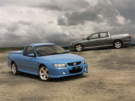 holden vz ute ss  picture    front angle