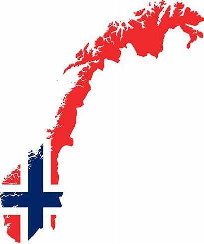 Norway Flag Map Clipart Country Europe Office