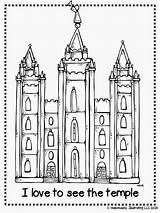 Lds Temple Coloring Pages Melonheadz Salt Lake Church Drawing Clipart Primary Illustrating Printable Temples Conference General Colouring Activity Clip Sheets sketch template