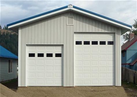 14 ft garage door small garage shop residential steel garages