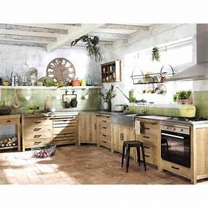 cuisine maison du monde occasion 11 avec meuble With deco cuisine avec lit meuble