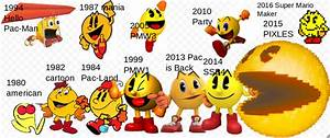Pac Man Over The Years By SuperStarfy2002 On DeviantArt