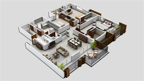 25 Three Bedroom Houseapartment Floor Plans by Inspirational Large 3 Bedroom House Plans New Home Plans