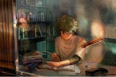 Academia Midoriya Izuku Hero Boku Background Anime