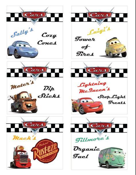 cuisine cing car disney cars ideas free printable disneyside