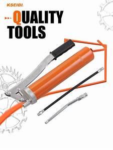 New Manual Grease Gun 400 Cc 14 Oz  U0026 Flex Hose 211335