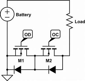 dual mosfet 8205a lithium battery protection circuit With mosfet protection circuit