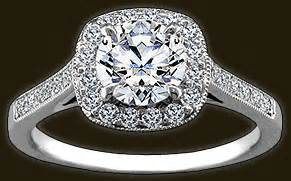 high setting engagement ring engagement ring settings whiteflash