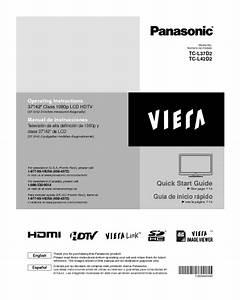 Viera Tc-l37d2 Manuals