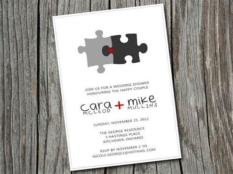 diy printable custom bridalwedding shower puzzle