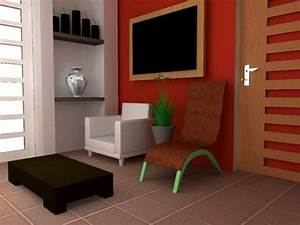Modern interior living room render max 3ds max for Interior design living room in 3ds max
