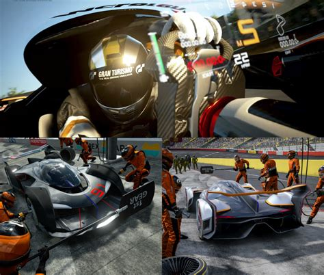 Mclaren Creates Ultimate Vision Gran Turismo For