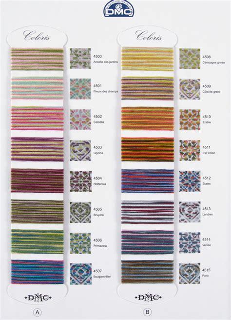 dmc thread color chart dmc coloris color chart
