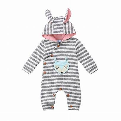 Hooded Romper Jumpsuit Infant Boy Rompers Emmababy