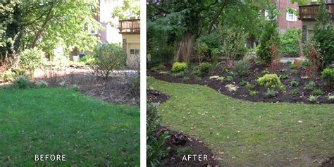 landscaping before and after build a garden share landscaping before and after photos
