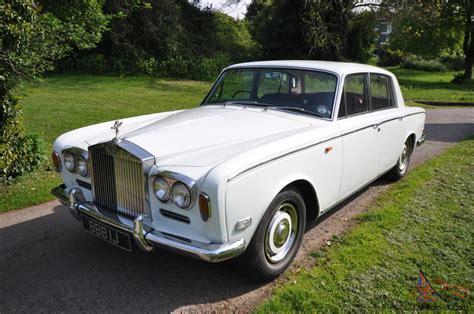1970 Rolls Royce Silver Shadow. Registered
