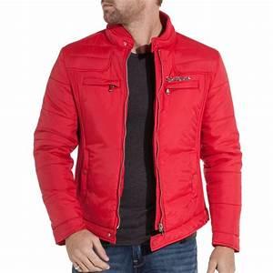 Veste En Cuir Rouge Homme : sixth june blouson homme rouge fashion ~ Melissatoandfro.com Idées de Décoration