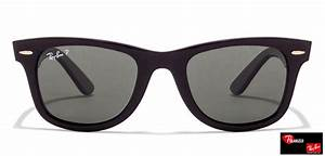 Ray-Ban RB2140 901/58 Size:50 Black Green Wayfarer ...