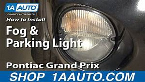 How To Replace Turn Signal Fog Driving Light 04