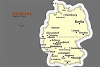 Map of frankfurt germany and surrounding area - Map ...