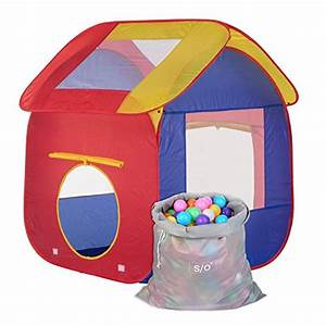 Kinderzelt Mit Bällen : schramm kinderspielzelt b llebad pop up kinderzelt mit 200 ~ Watch28wear.com Haus und Dekorationen